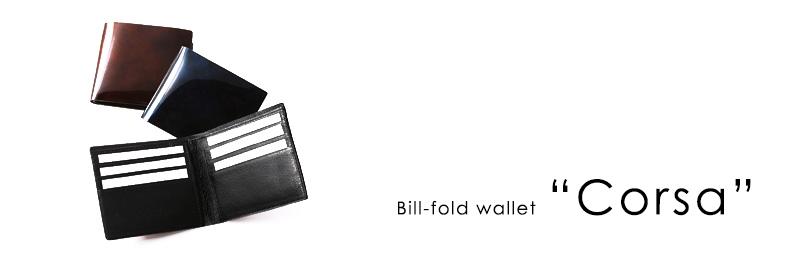 Bill-fold wallet Corsa